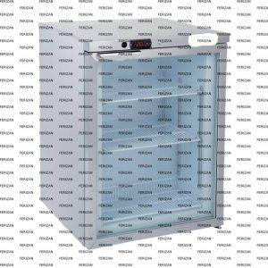 یخچال در ب شیشه ای