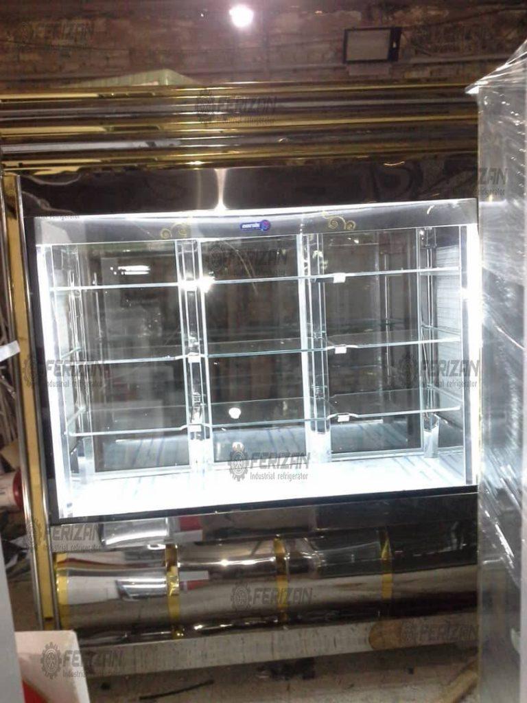 یخچال درب شیشه ای