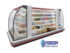 rقیمت صادرات یخچال های فروشگاهی