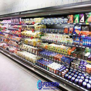 قیمت صادرات یخچال های فروشگاهی