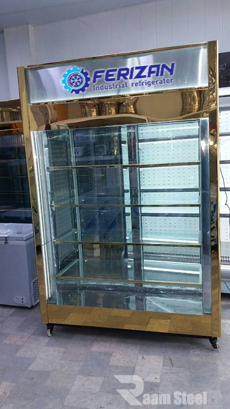 یخچال ویترینی 1/5 متری