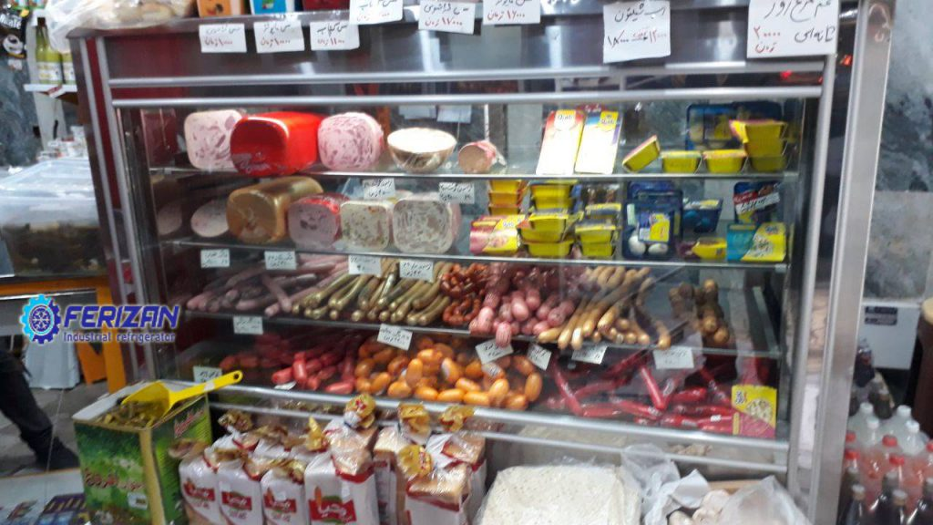 یخچال ایستاده سوپر مارکت